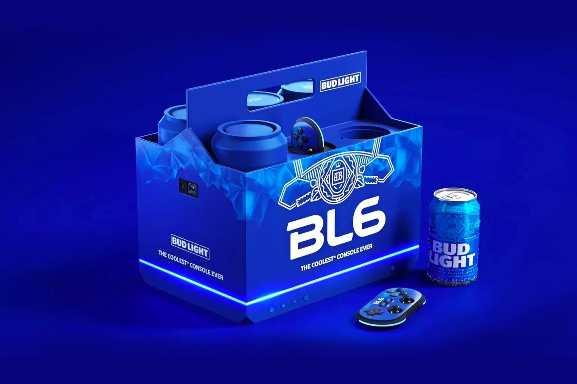 Meet the BL6, Bud Light's Game Console