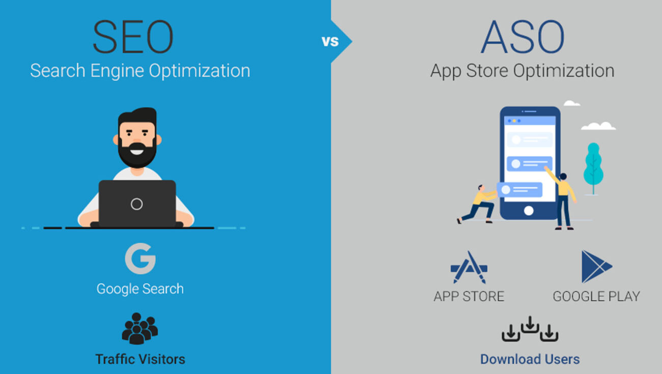 App store optimization: differenze con la SEO per mobile