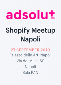 Shopify Meetup Napoli – Inside Marketing