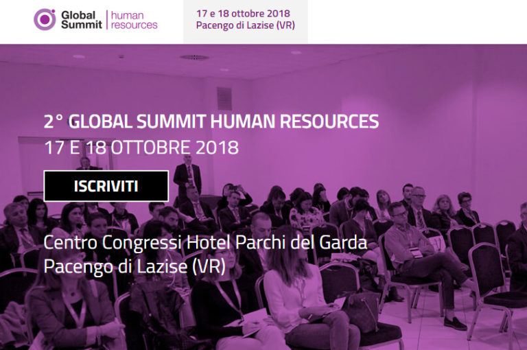 Global Summit Human Resource Verona ottobre 2020