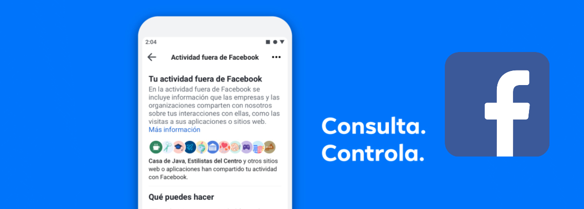 Social Media Marketing, toma el control en Facebook-Control de datos en Apps y Sitios Webs