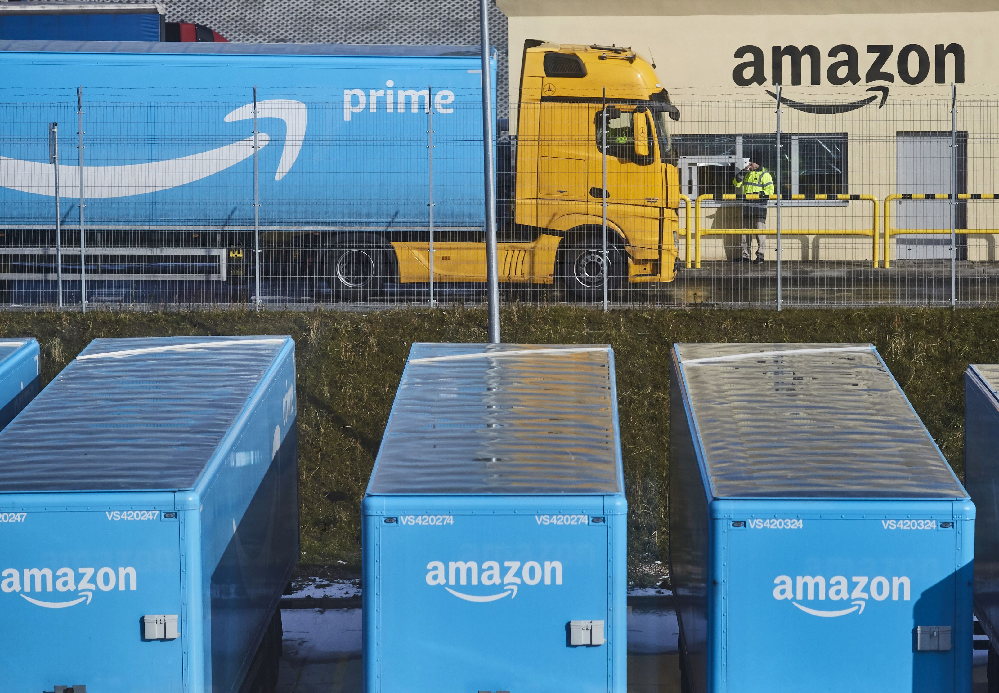 Amazon Freight, 'Uber for trucking' service, running since last year