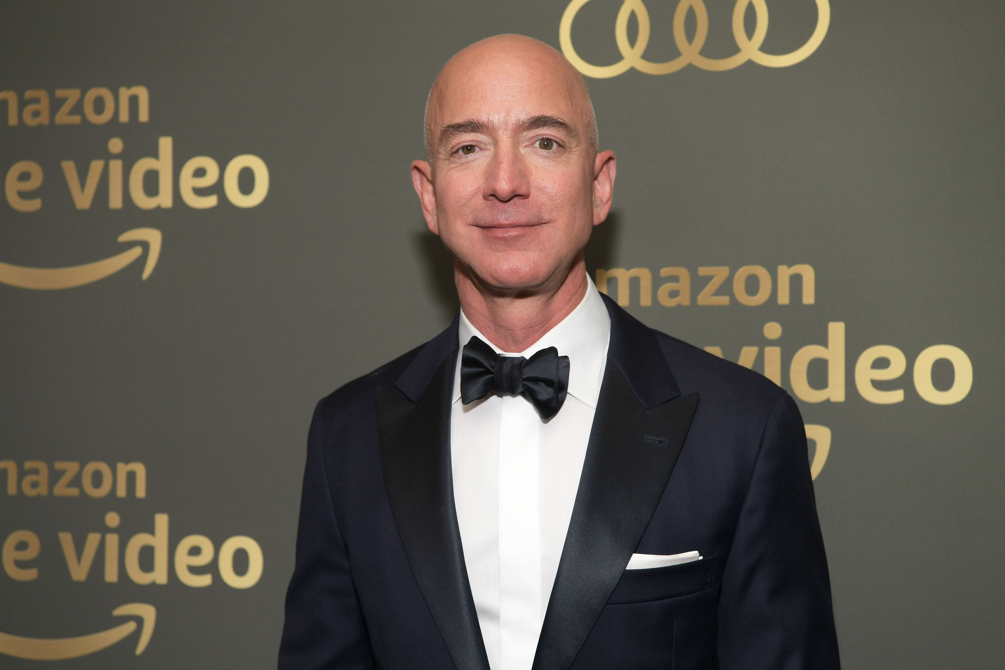 Amazon CEO Jeff Bezos attends the Amazon Prime Video's Golden Globe Awards After Party in Beverly Hills, Calif., on Jan. 6, 2019.