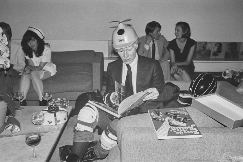 Andy Warhol Foundation to Post 'Intimate' Pictures on Instagram, Including One of the Pop Artist in Roller Skates -ARTnews