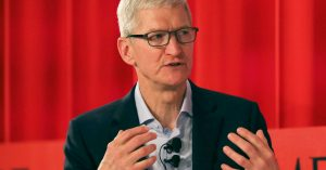 Apple CEO says Europe is leading U.S. with tech regulation