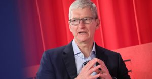 Apple's Tim Cook says FBI case against locked iPhone was rigged