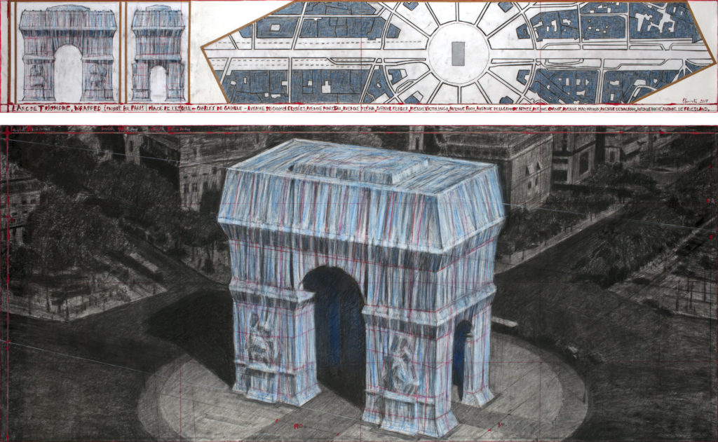 Christo Plans to Wrap Parisian Arc de Triomphe -ARTnews