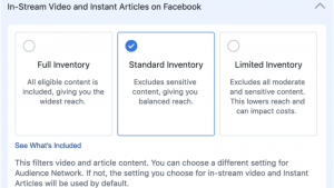 Facebook to replace Exclude Categories with new brand safety ad filters