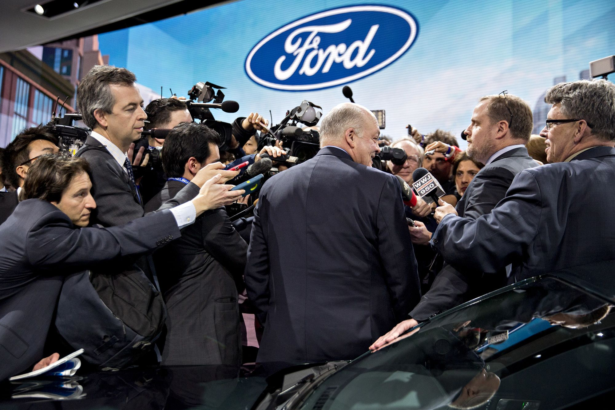 Ford shares rally as its risky bet away from sedans yields results