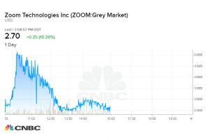 Investors appear to trade wrong Zoom company shares before IPO