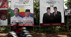 Jokowi, Prabowo and the topic of China