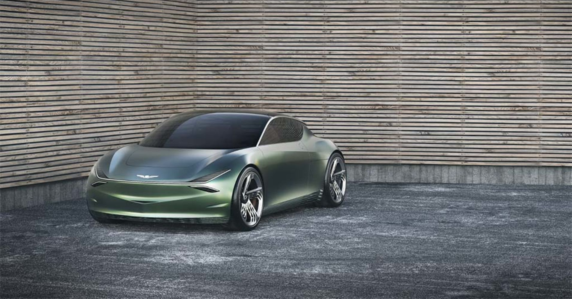 Korean carmaker Genesis debuts EV with Mint concept car at NY auto show