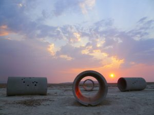 Nancy Holt's Land Art Sculpture 'Sun Tunnels' to Be Conserved by Dia Art Foundation -ARTnews