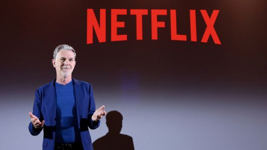 Reed Hastings attends Reed Hastings panel during Netflix