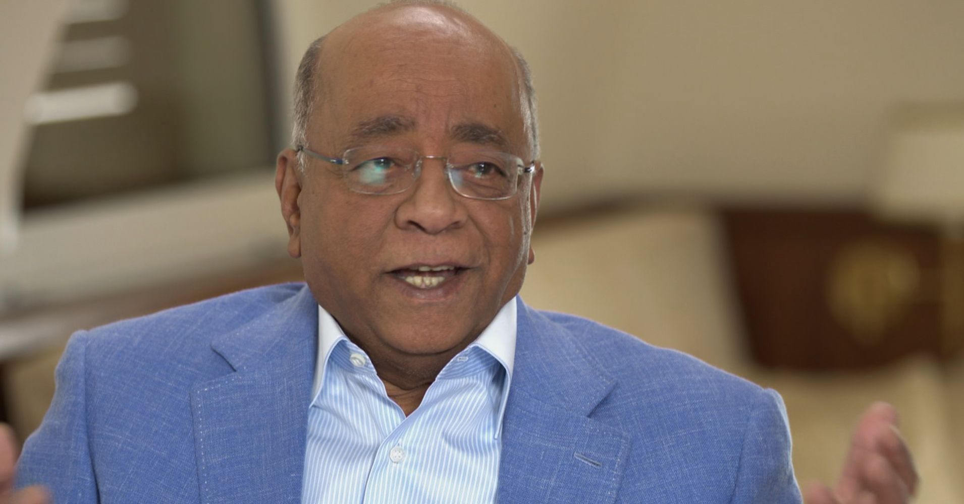 No bank would fund Mo Ibrahim's telco but then he became a billionaire