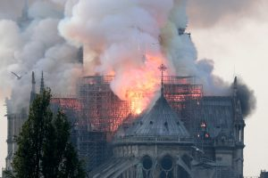 Notre-Dame Cathedral in Paris Catches Fire -ARTnews