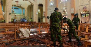 Sri Lankan officials shut down Facebook, WhatsApp after bombing