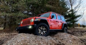The 2019 Jeep Wrangler Rubicon shines off-road