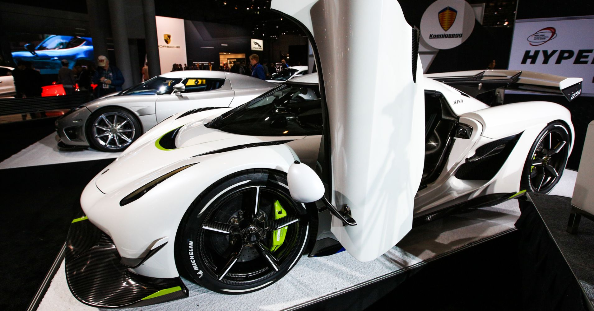 The fastest cars debuting at New York auto show can hit 60 in under 2 seconds