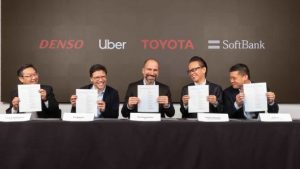 Uber nabs $1 billion self-driving car investment from Softbank, others