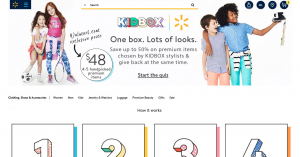 Walmart launches its first subscription box for apparel with Kidbox
