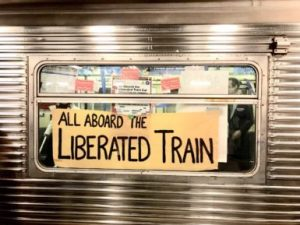 Activist Arrested En Route to Whitney Museum Protest, Allegedly for Defacing Subway Car -ARTnews