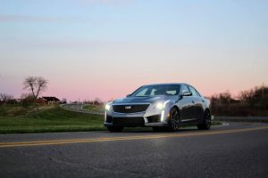 Cadillac's $100,000 2019 CTS-V sports sedan gives BMW, Mercedes a run for their money
