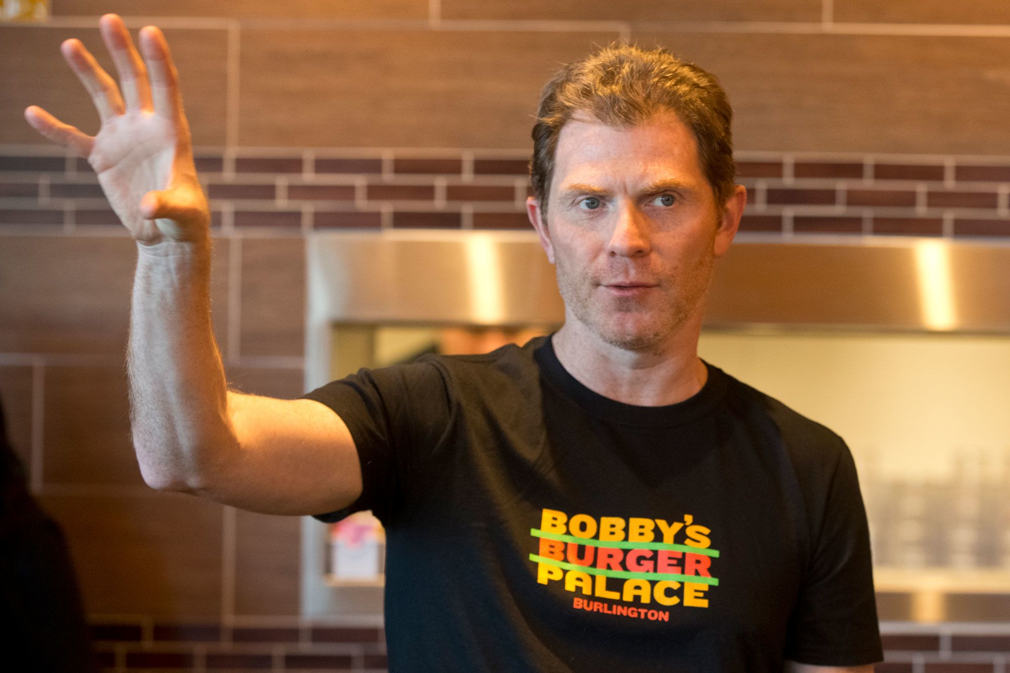 Celebrity chef Bobby Flay isn't buying into the meatless burger craze