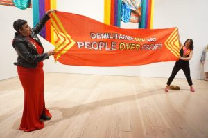 Indigenous Womxn's Collective Protests Whitney Board Member Linked to Tear-Gas Canister Manufacturing at Biennial Reception -ARTnews