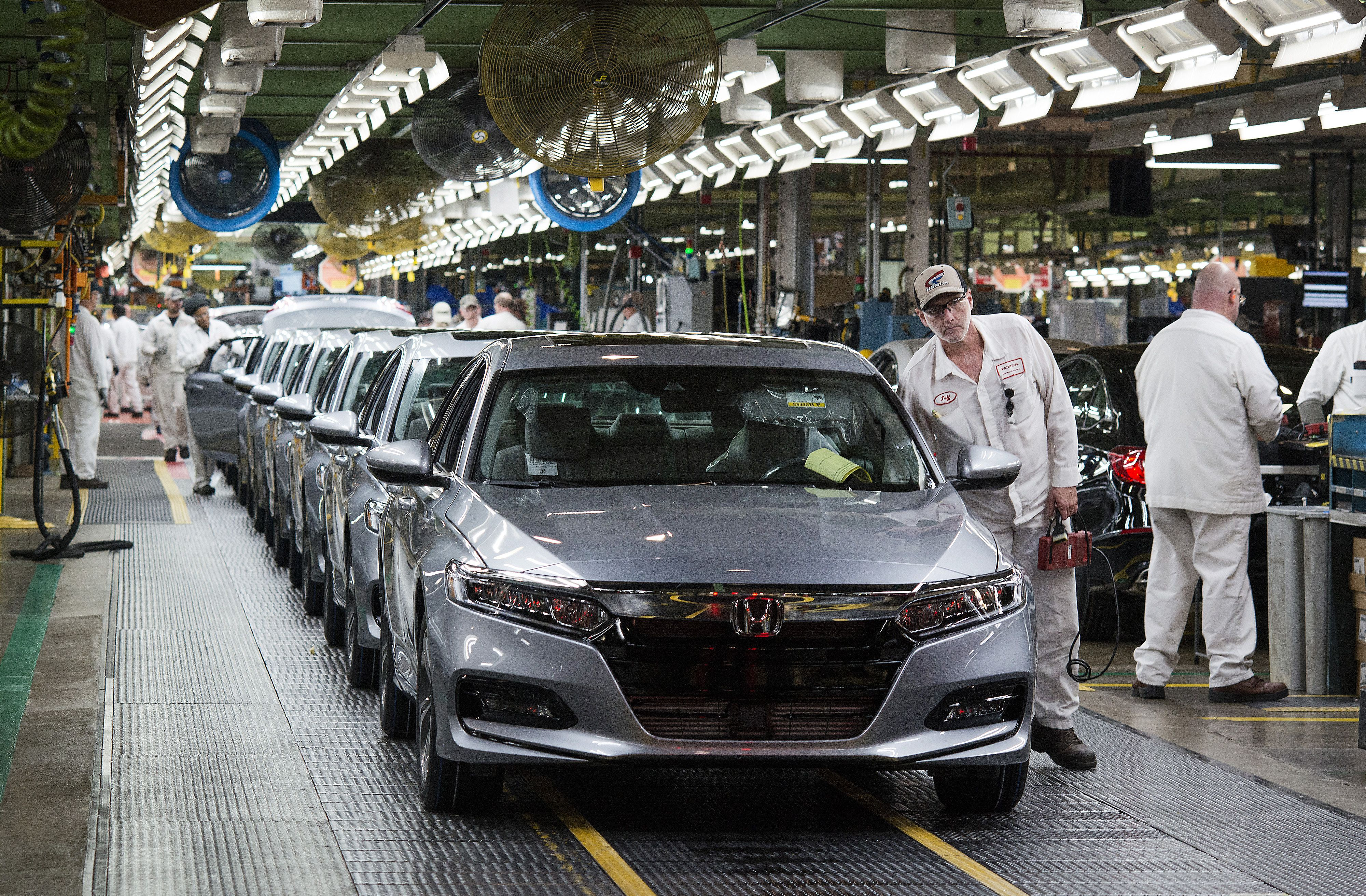 Japanese automakers tout all-time high US job creation pressure on Trump