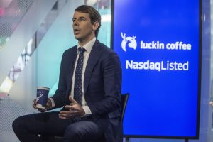 Luckin Coffee surges 43% in its market debut