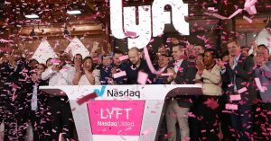 Lyft crashes amid middling Uber market debut