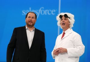 Salesforce stock drops sharply on Tableau buy