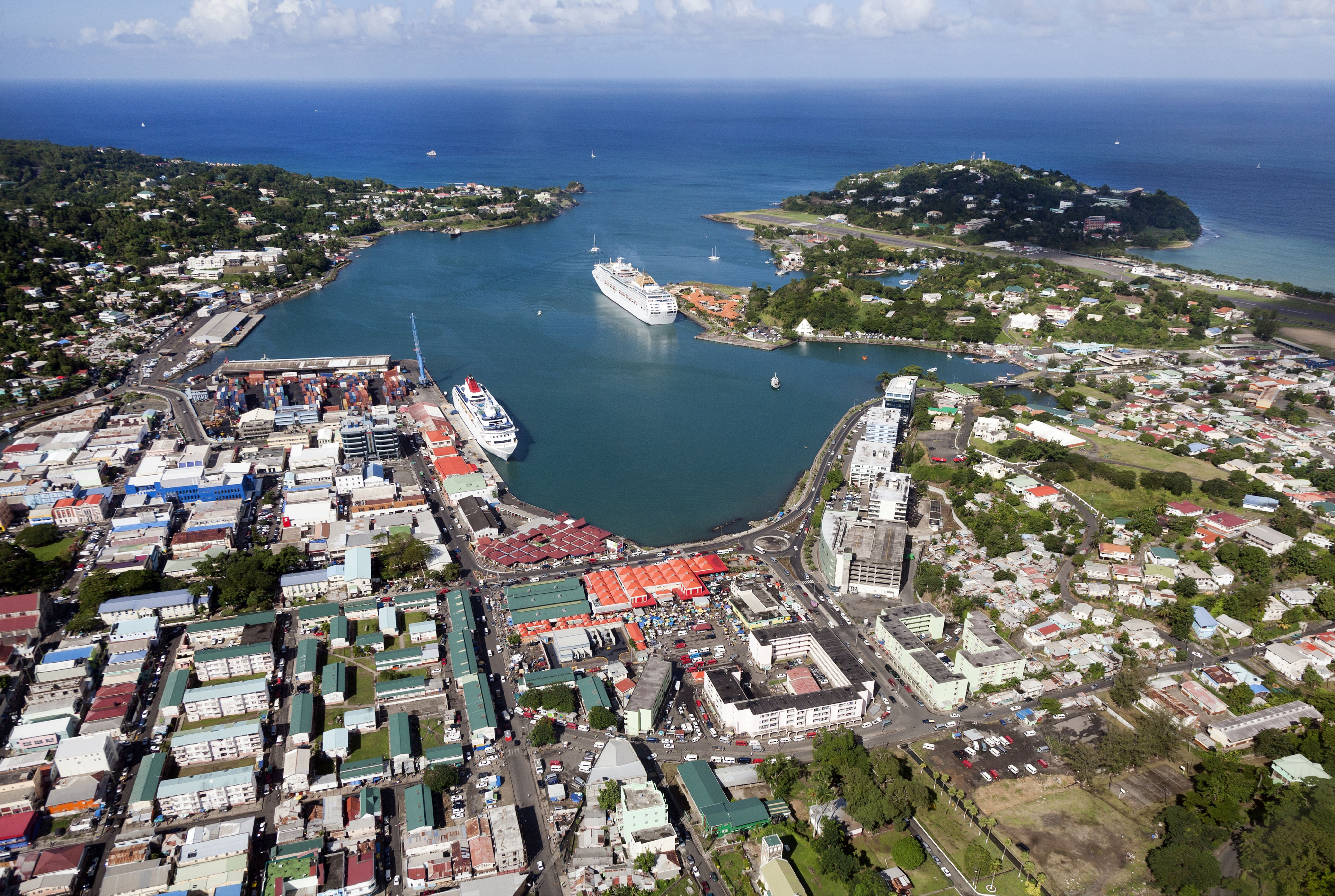 St. Lucia Health officials quarantine cruise ship with a confirmed measles case