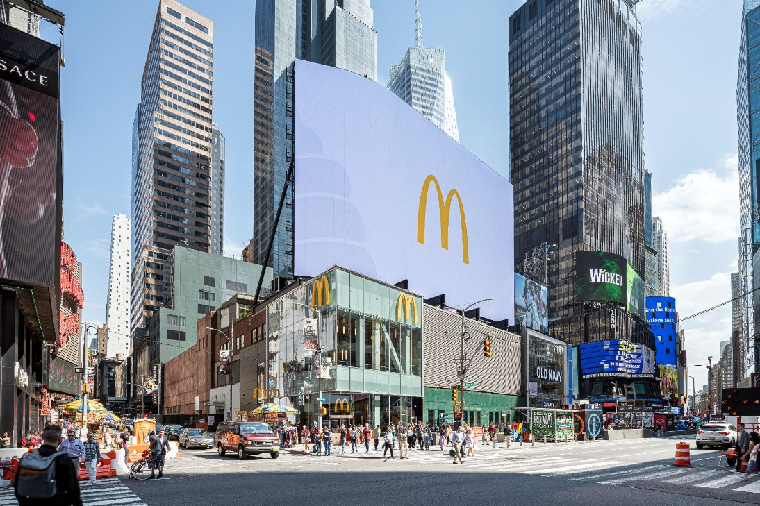 Take a look inside McDonald's new Times Square flagship