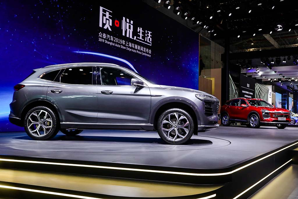 The first Chinese automaker sets sights for US as Zotye takes on Detroit
