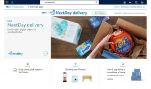 Walmart announces next-day delivery, firing back at Amazon
