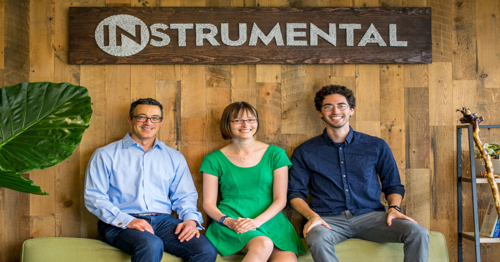 Instrumental COO Keith Lucas, CEO Anna Shedletsky and CTO Sam Weiss