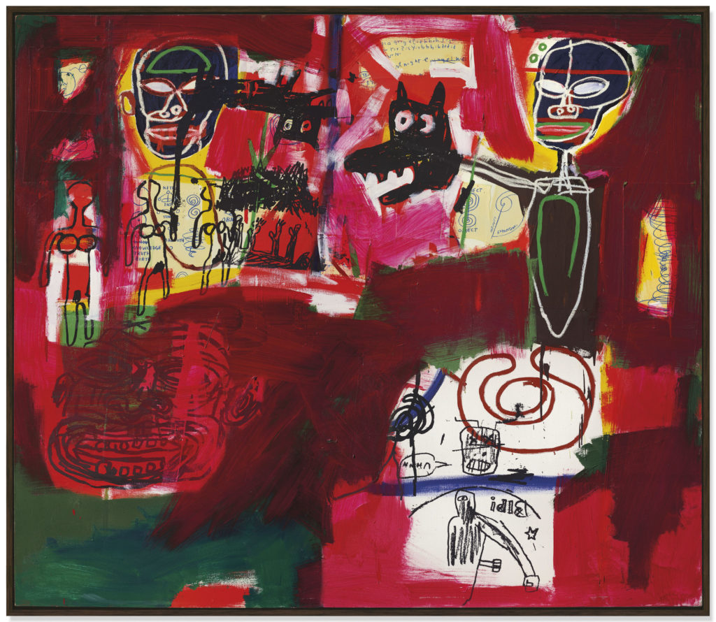 $10.7 M. Basquiat Sells at $57.6 M. Christie's Contemporary Sale in London -ARTnews