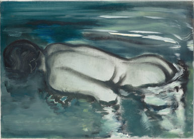 Marlene Dumas' Losing (Her Meaning) from 1988.