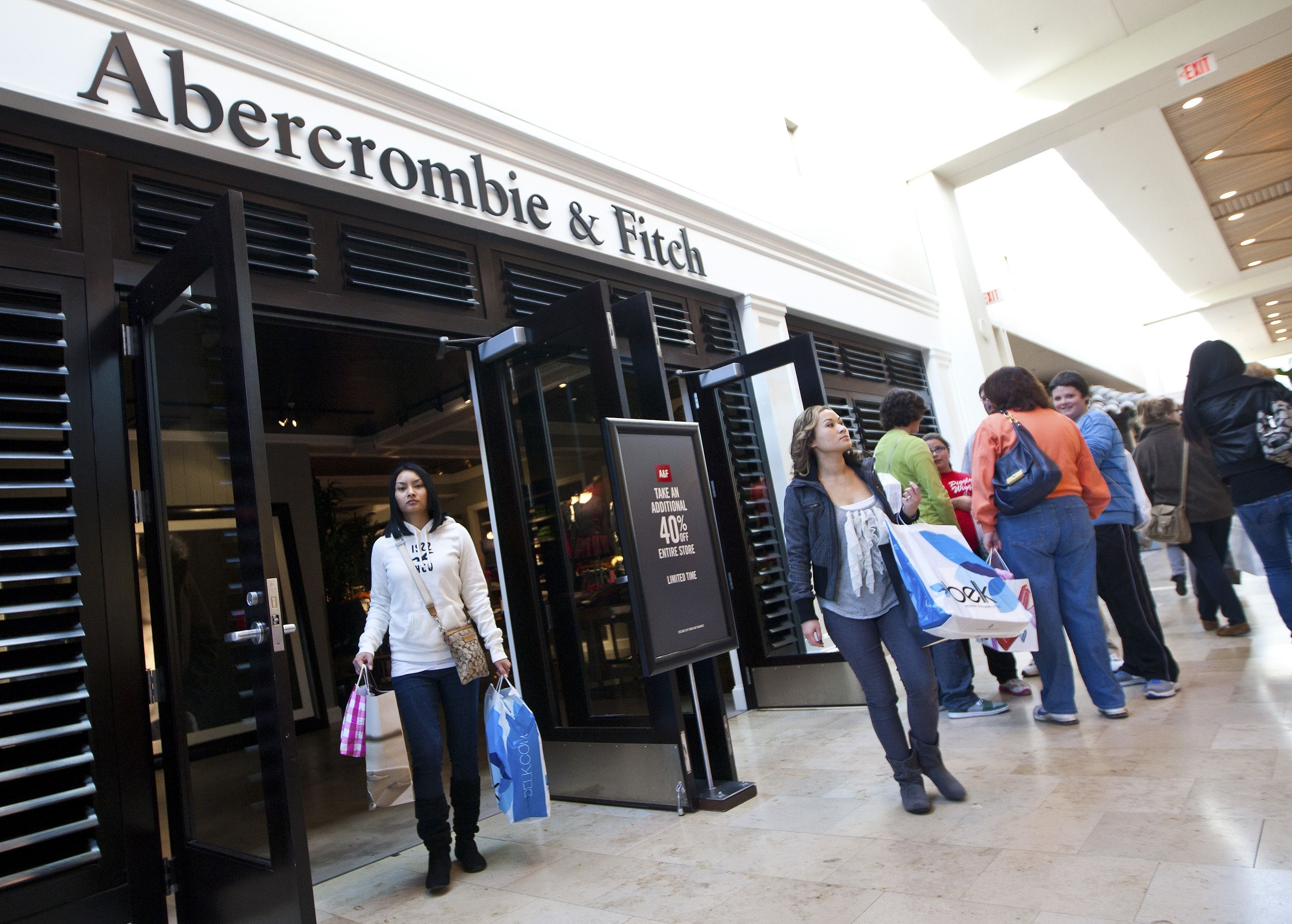 Abercrombie & Fitch will sell GGB's CBD products in over 160 stores