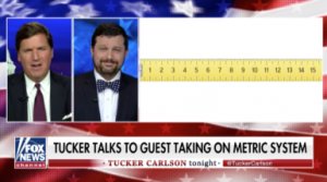 Art Critic James Panero Discusses the Metric System with Far-Right Pundit Tucker Carlson -ARTnews