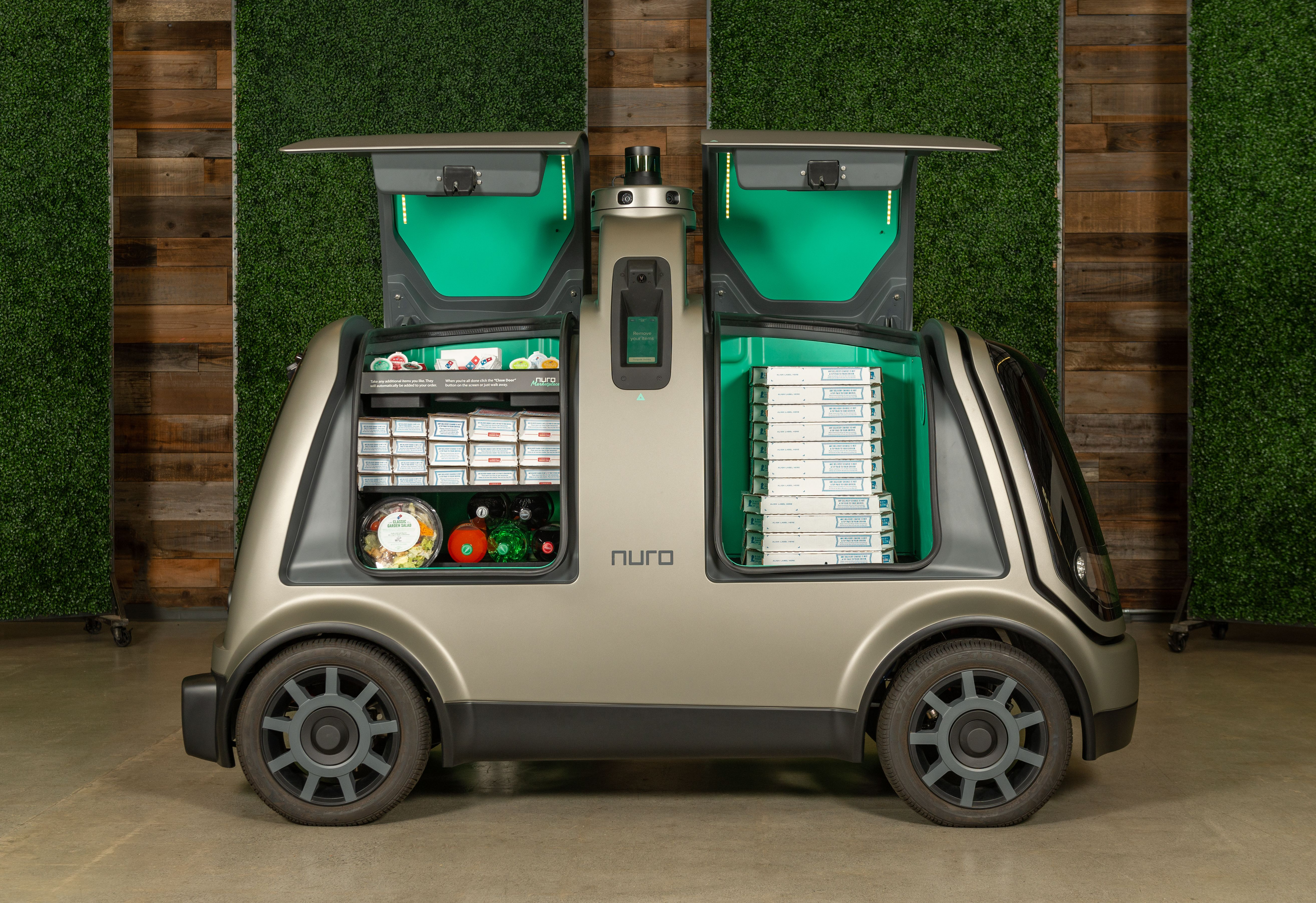 Domino's Pizza teams with Nuro to test automated delivery in Houston