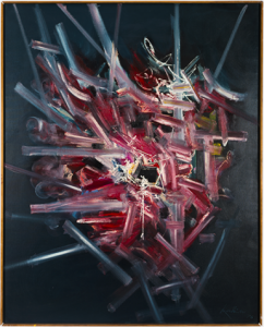 Georges Mathieu Estate Is Now Repped by Nahmad Contemporary and Perrotin -ARTnews