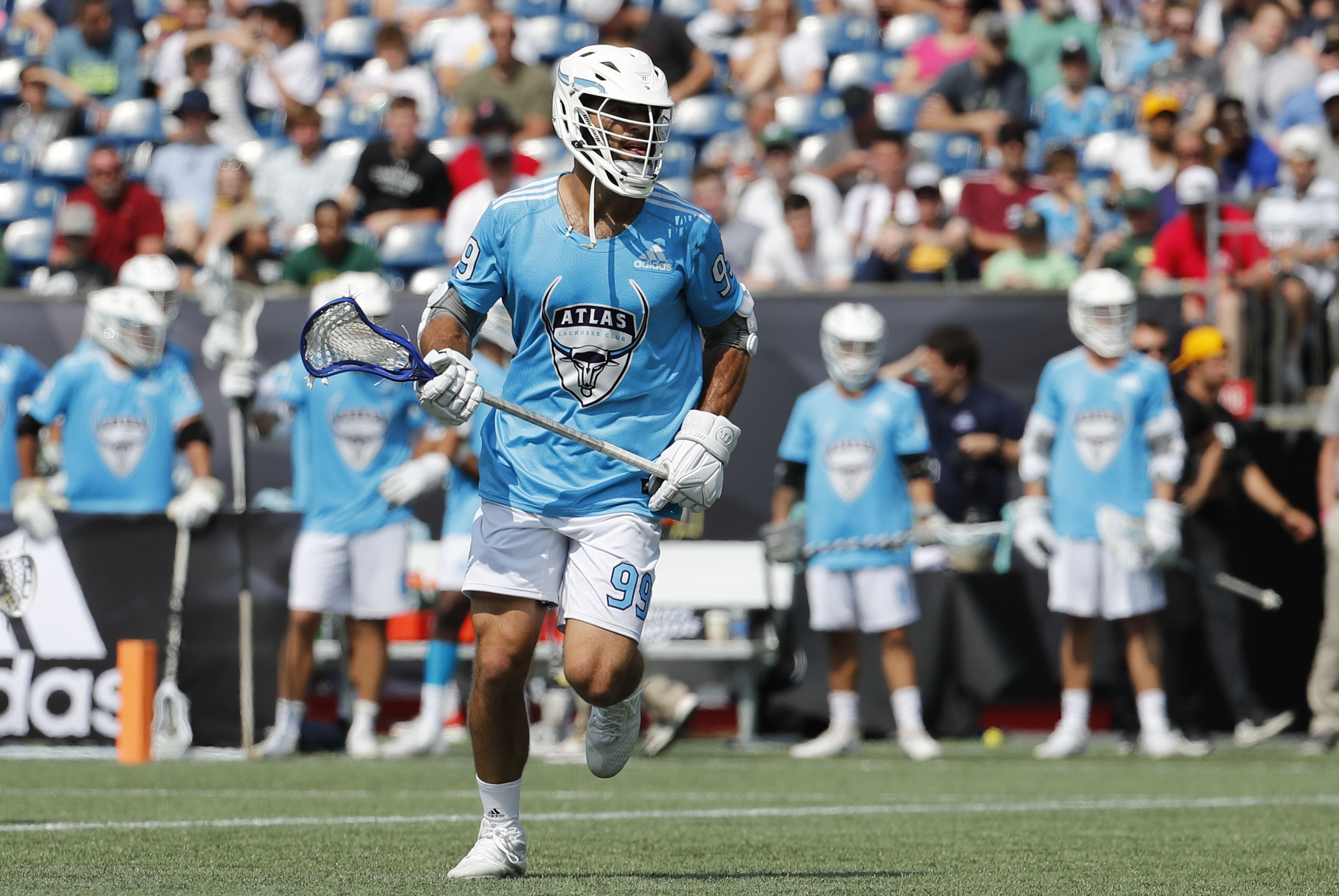 Lacrosse star Paul Rabil says only one pro league will survive