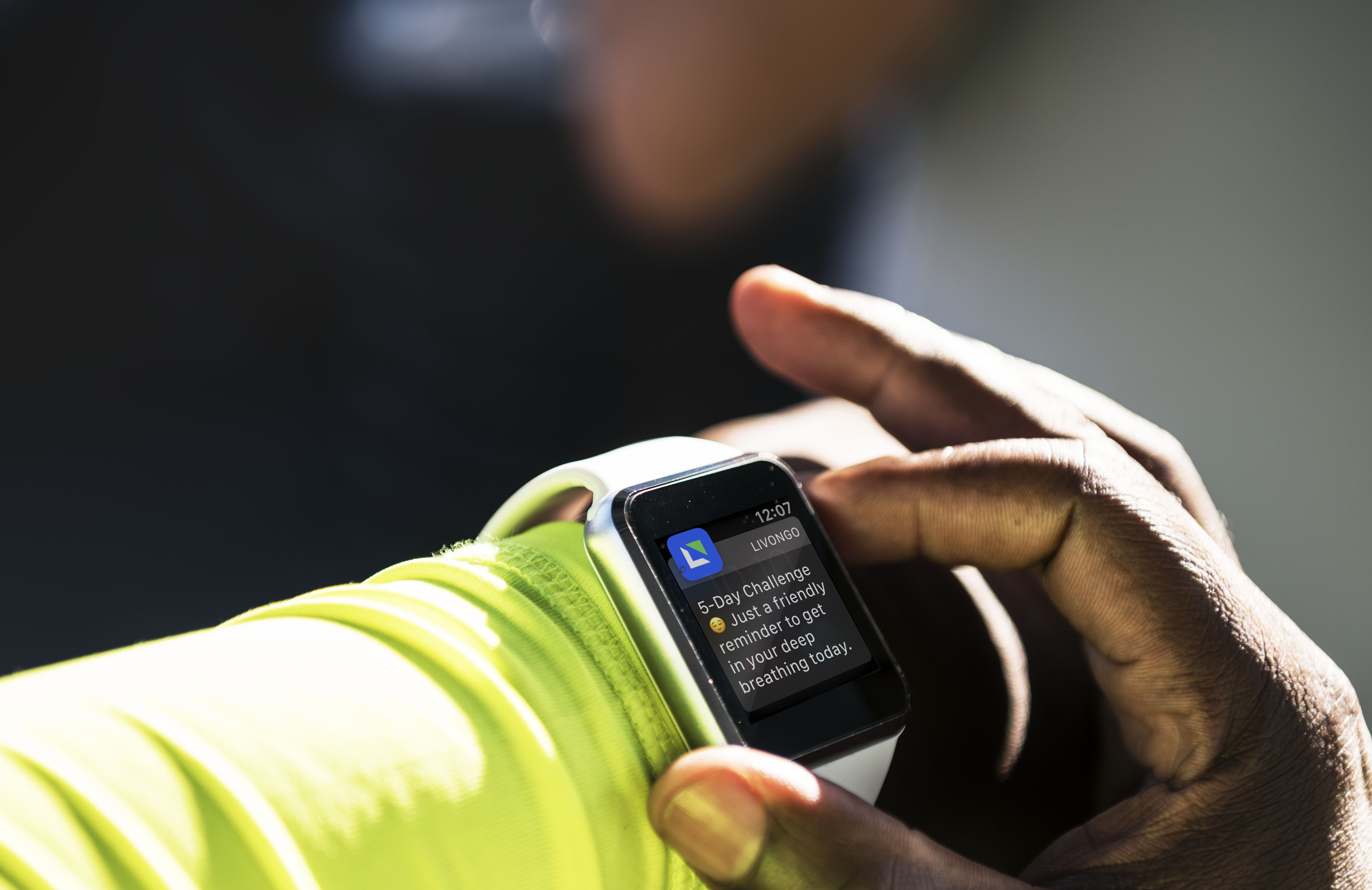 Livongo health 'nudges' coming to Apple Watch, Fitbit, Samsung watches