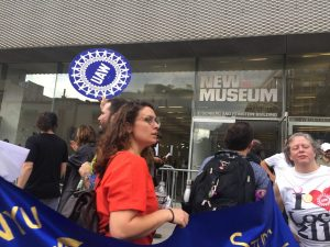 New Museum Union Stages Action at Opening as Contract Negotiations Continue -ARTnews