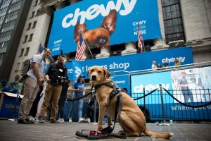 Put Chewy on the shopping list and buy it on a pullback