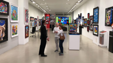 Romero Britto Makes an Appearance on 'The Real Housewives of New York' -ARTnews