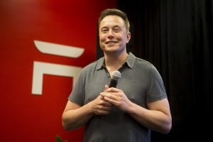 TSLA stock jumps as Musk says Tesla may have 'a record quarter'